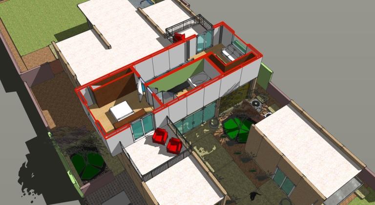 LEO - second floor axon